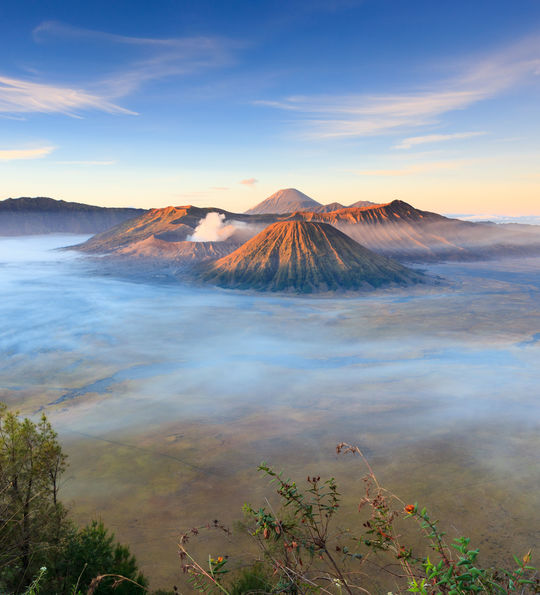 Mt. Bromo at sunrise