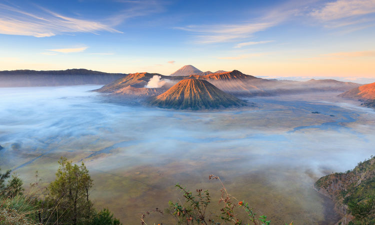 Mt Bromo at sunrise, Java, Indonesia