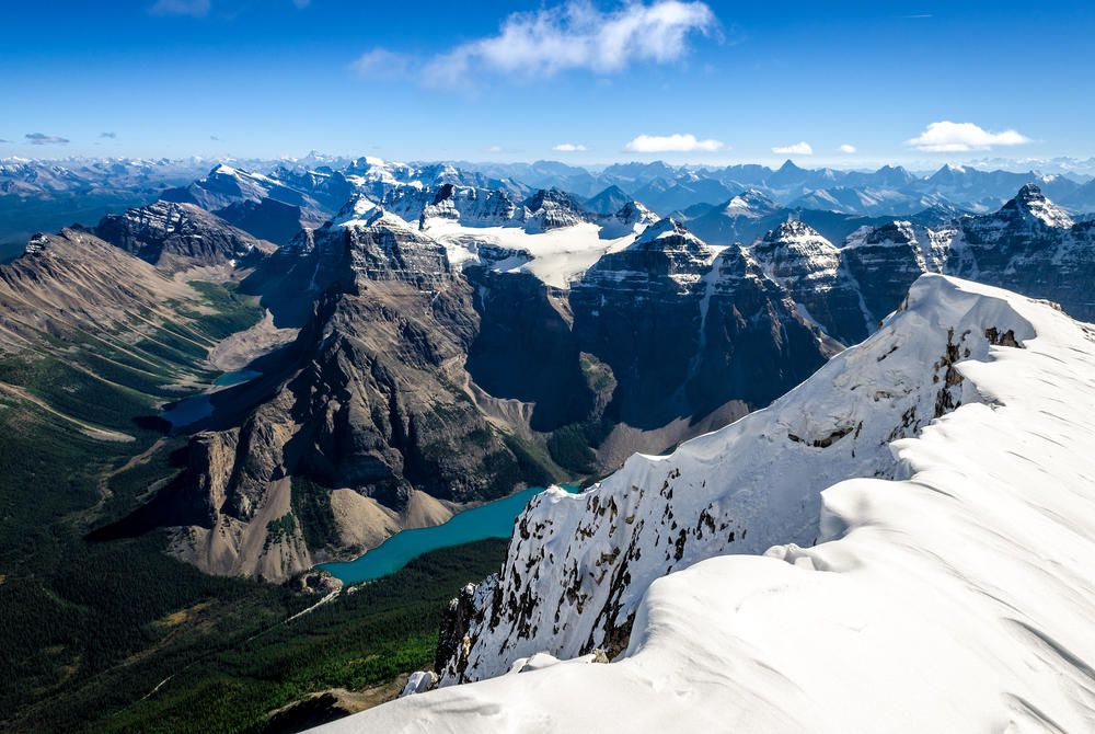 Mt Temple, Moraine Lake