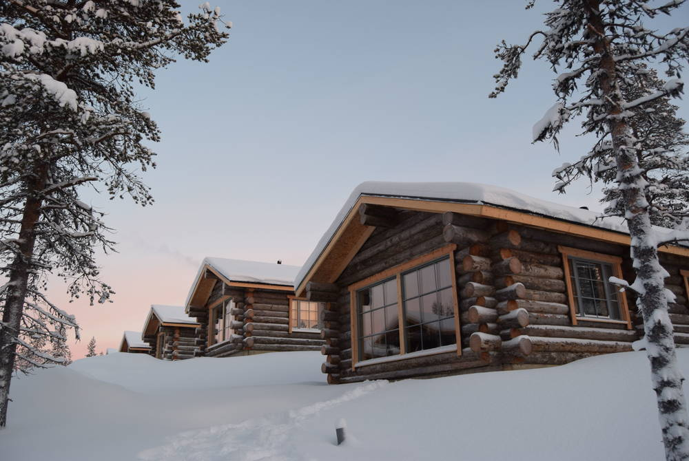 Amend this itinerary & stay in a Muotka Maja Log Cabin
