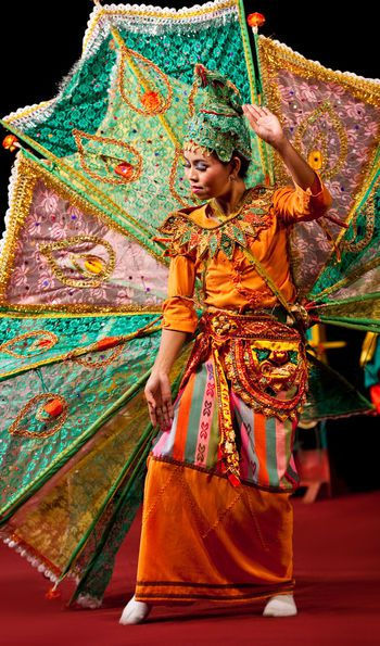 Traditional Myanmar Burma dance