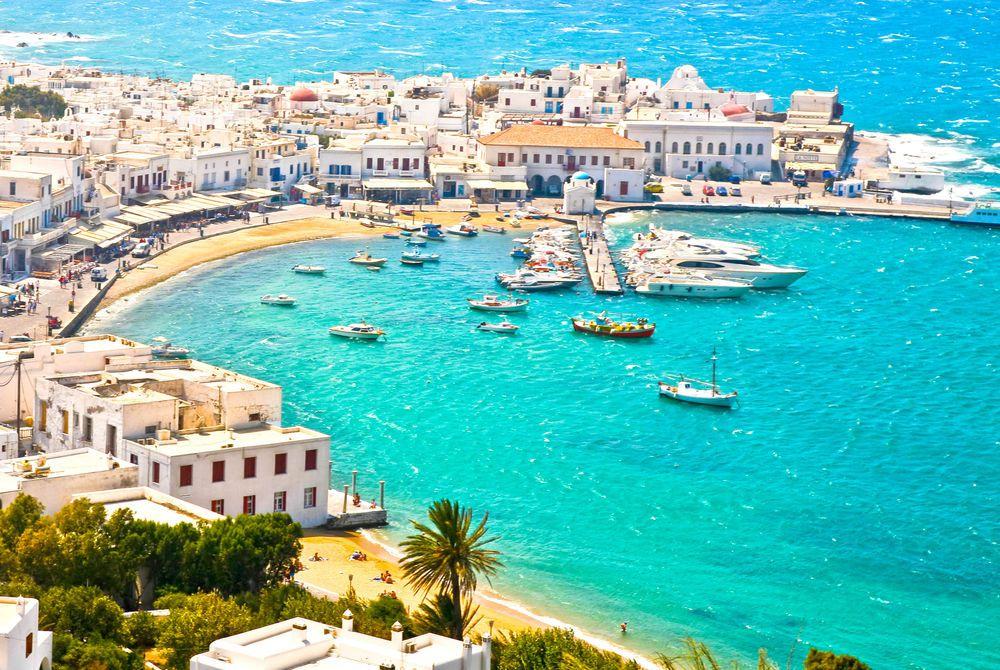 Best Island Beaches For Partying Mykonos St Barts: Luxury Greece With Katikies Hotels Mykonos & Santorini