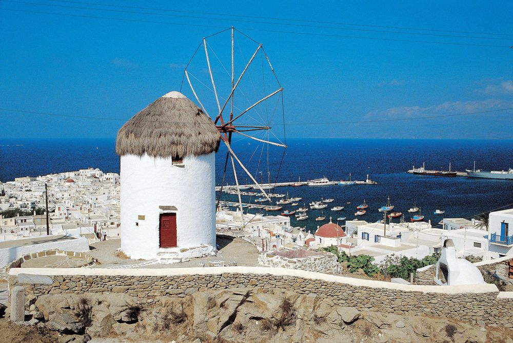 Mykonos, Cyclades, Greece, Europe