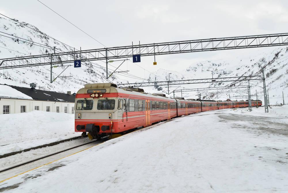 Myrdal Station, Bergen Railway