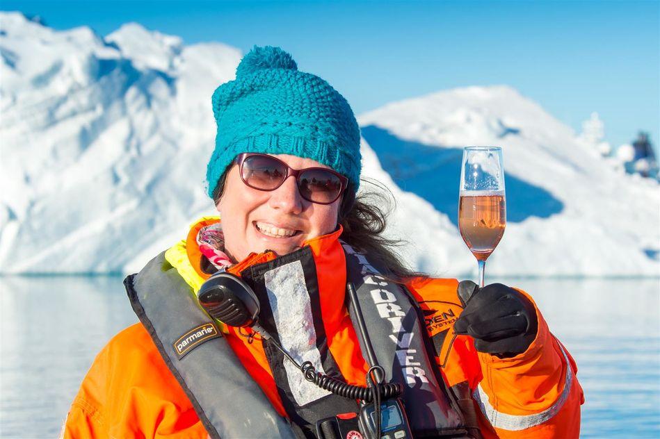 Hapag-Lloyd Cruises Cruise Director Nadine Armbrus