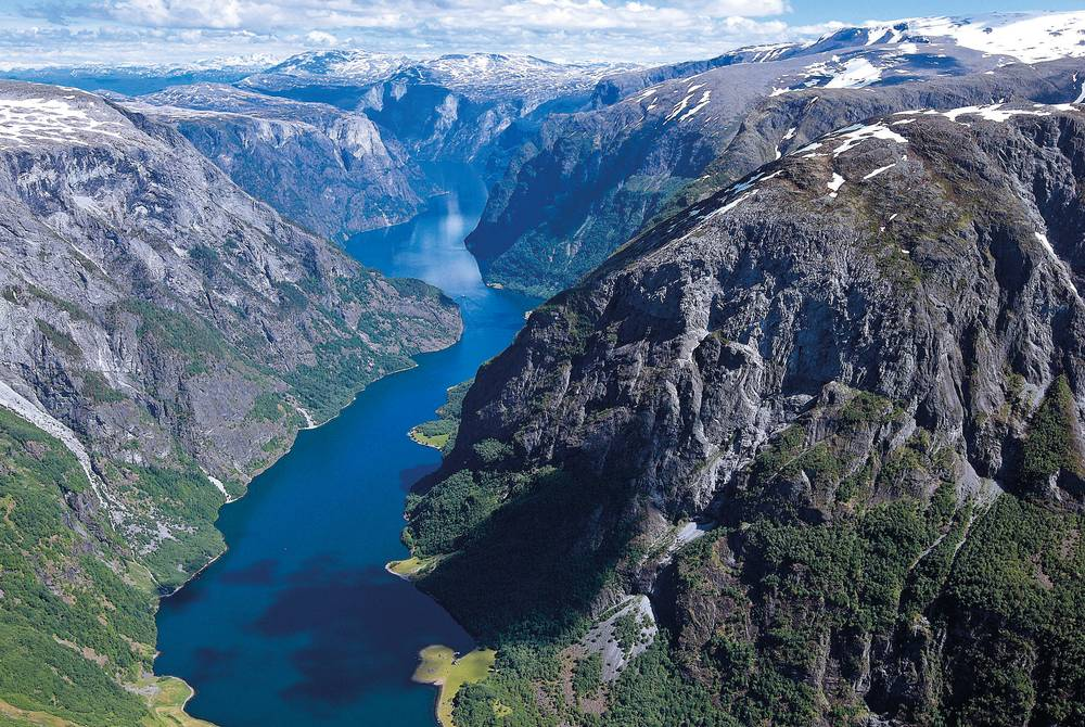 Naeroyfjord near Flam