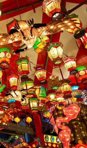 Nagasaki Lantern Festival in Japan