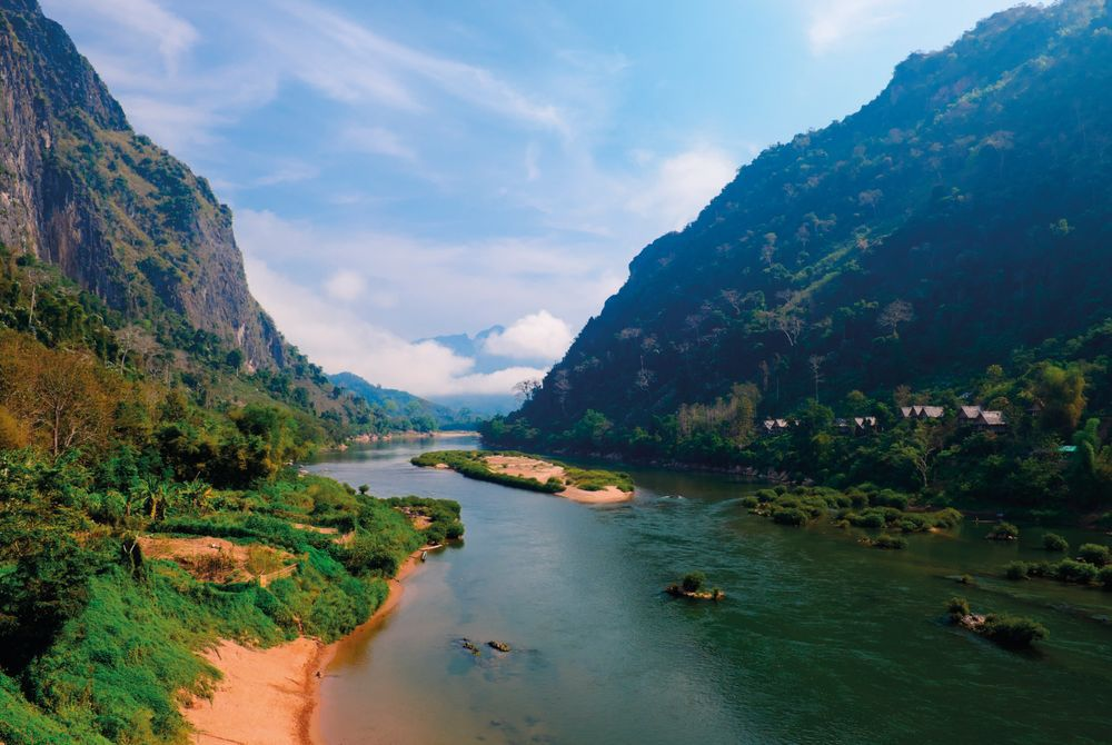 Nam Ou River, near Nong Khiaw, Laos