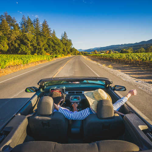 Hit the open road in the USA
