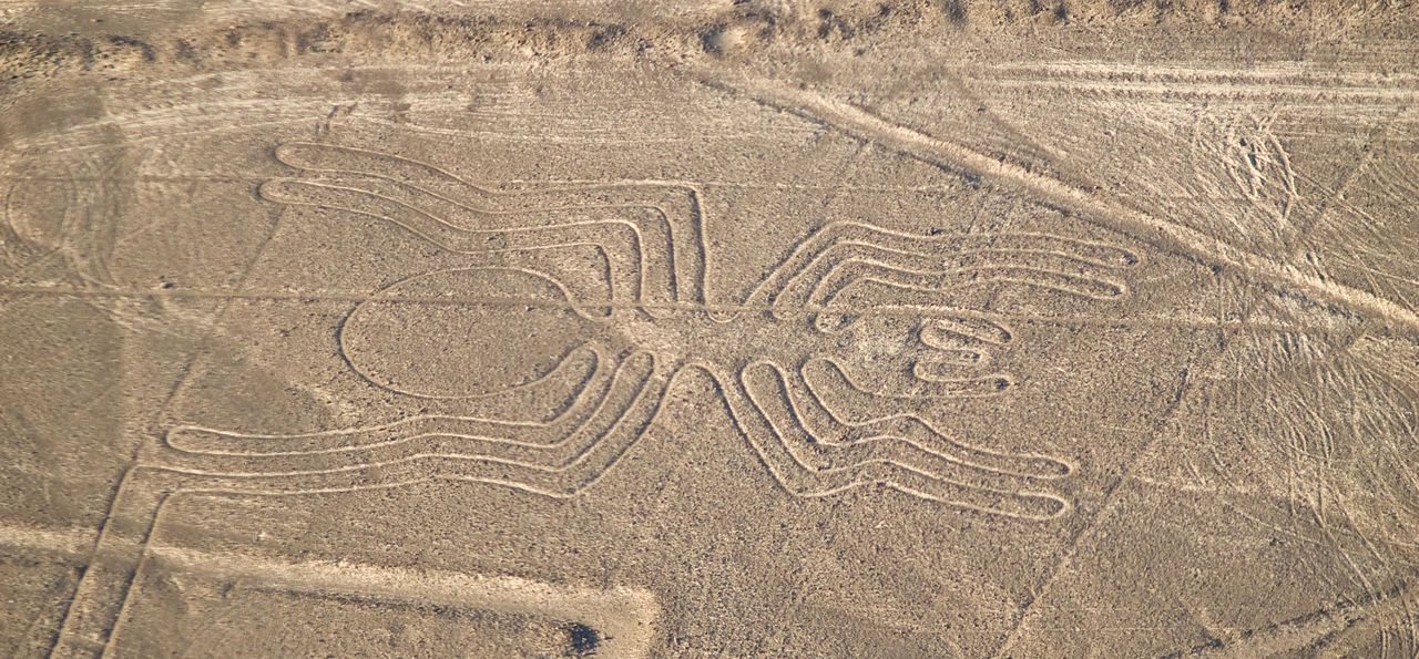 Peru's Nazca Lines from the air