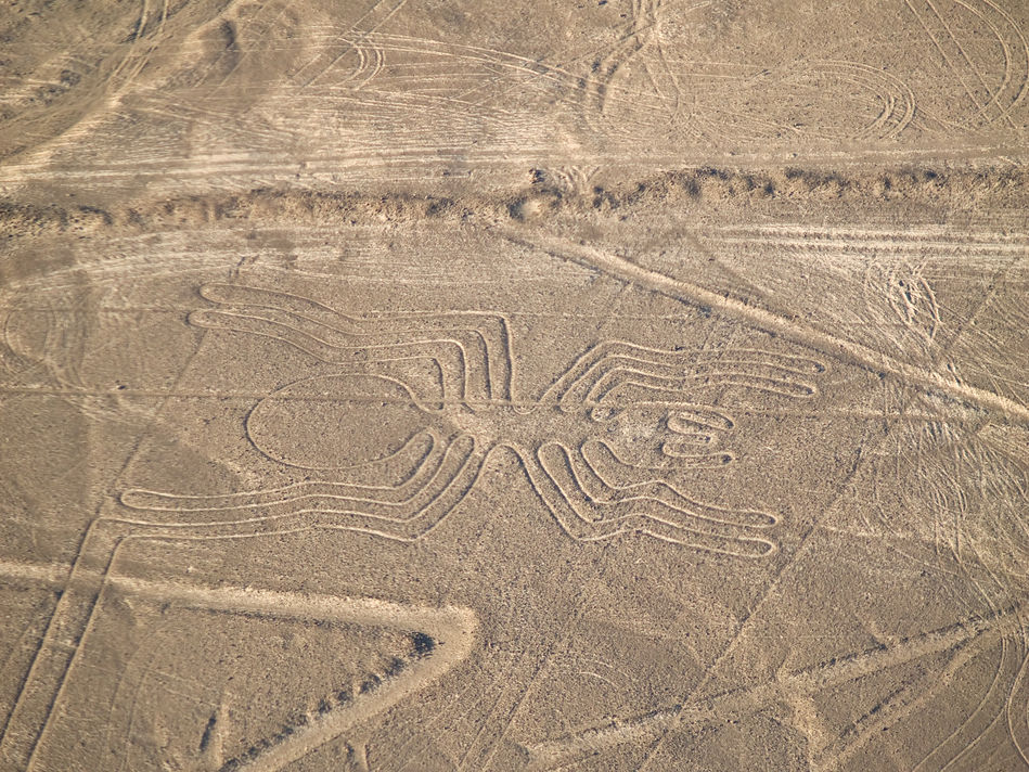 The famous Nazca lines