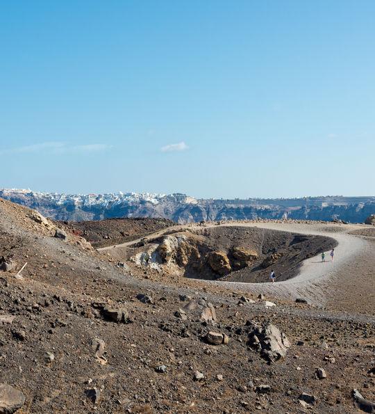 Nea Kameni Volcanic Park, Santorini