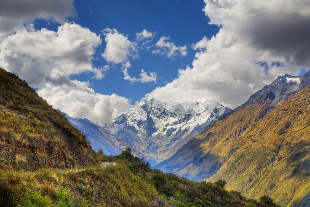 Nevado Humantay Peak, Salkantay Trek, Andes, Peru