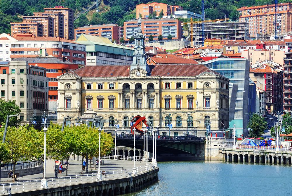 Nevion River & Bilbao Riverfront, Spain