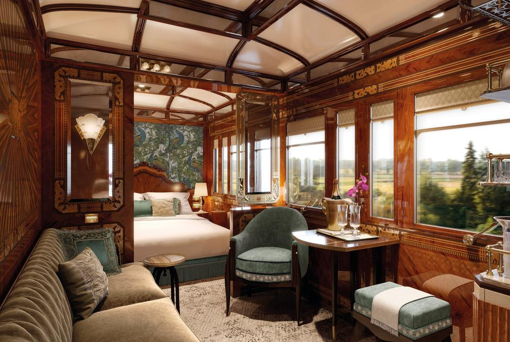 The new Grand Suites of Belmond's Venice Simplon-Orient-Express