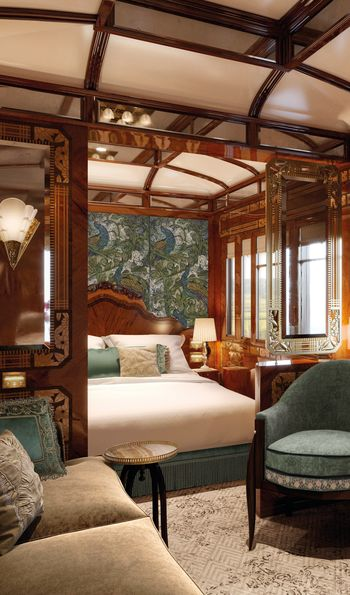 New Suite (Artist's Impression), Venice Simplon-Orient-Express