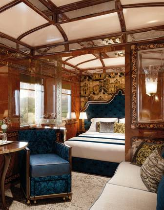 Grand Suite (Artist's Impression), Venice Simplon-Orient-Express