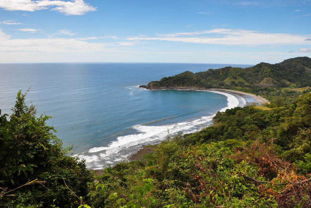 Beach on the Nicoya Peninsula, Costa Rica