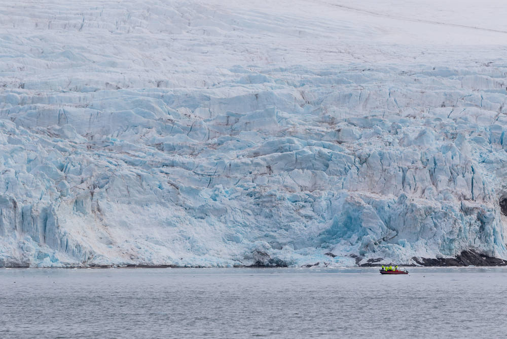 Nordenskiold Glacier, Svalbard