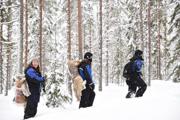Nordic winter skills