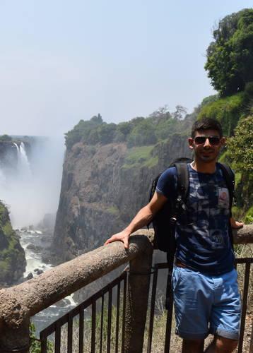 Norire Arakelyan, Victoria Falls, Zimbabwe
