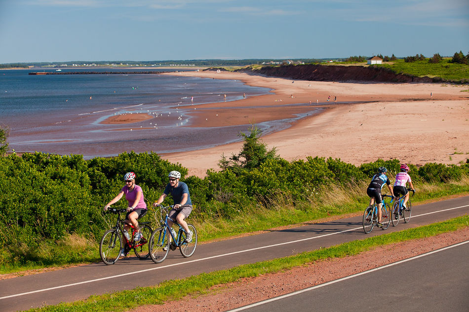 Cycling on the North Shore of Prince Edward Island