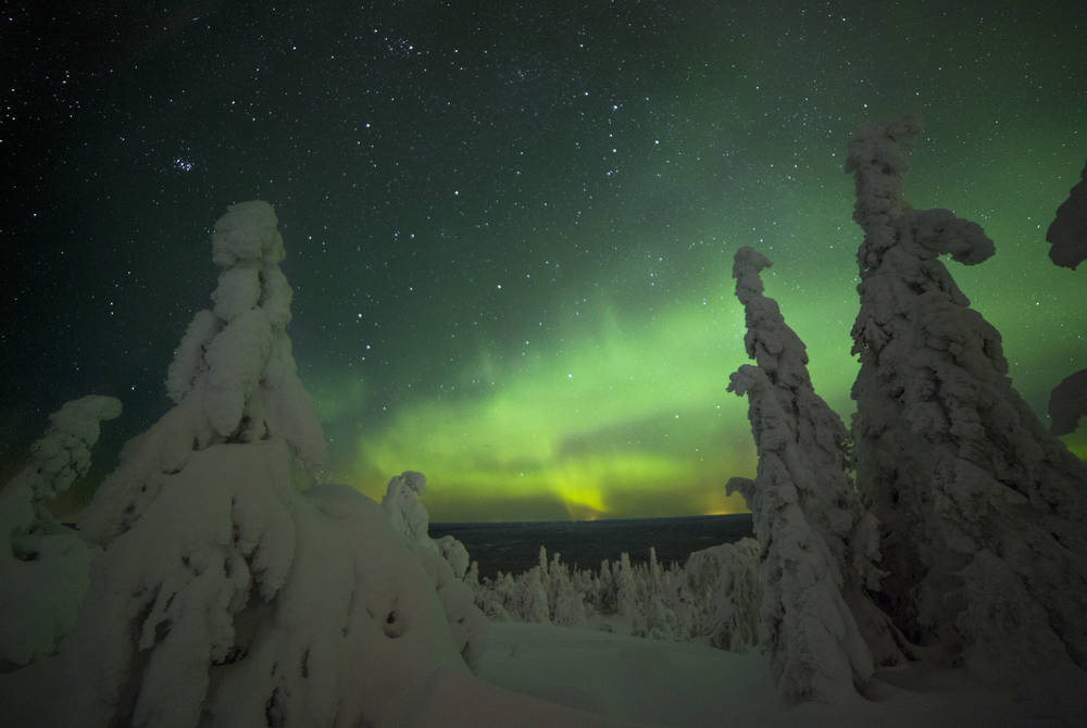 Northern Lights, Iso-Syote, Finland