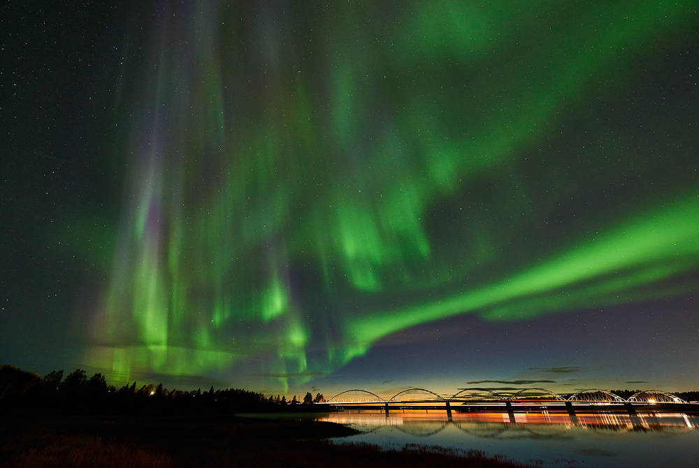 Northern Lights, Luleå.