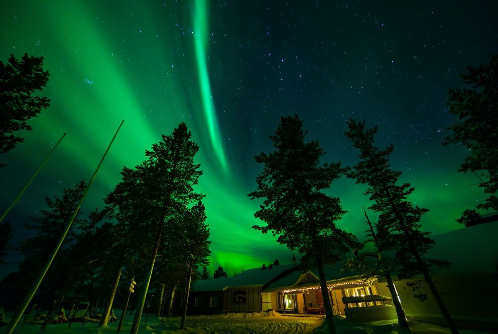 Muotkan Maja Wilderness Lodge, Finnish Lapland