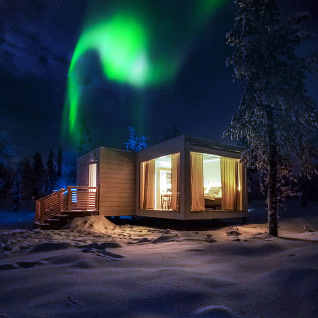 Northern Lights Ranch at Levi in Lapland Finland