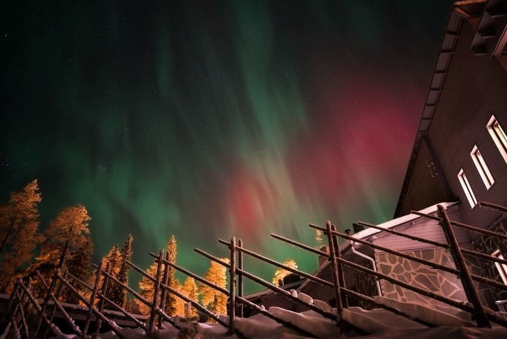 Northern Lights, Santa's Hotel Aurora