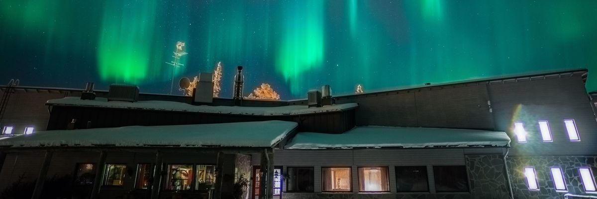 Snow and Santa in Finnish Lapland