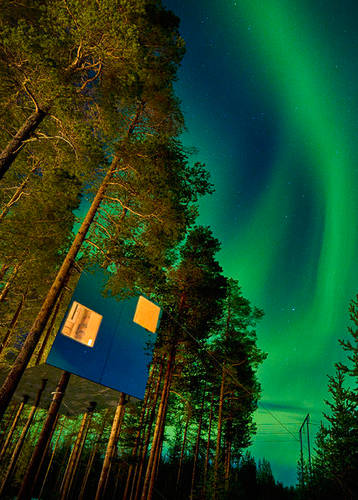 Northern Lights, Treehotel