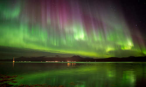 Northern Lights, Villmarkssenter, Tromso