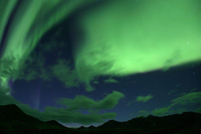 Northern Lights, Yukon, Alaska
