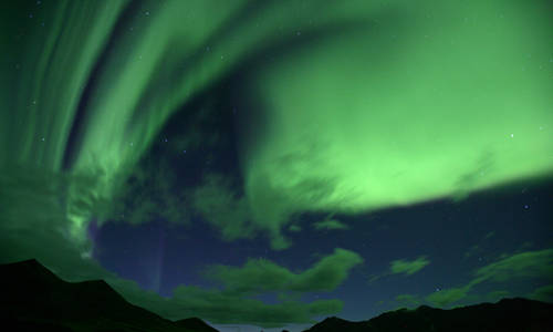 Northern Lights, Yukon, Alaska
