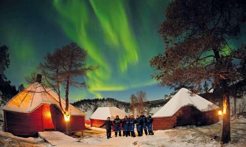 Northern Lights Watch at Camp Nikka