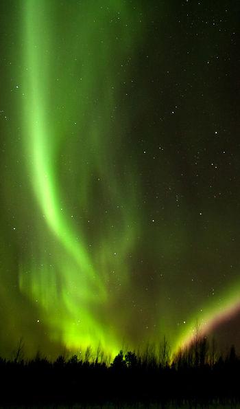 Northern Lights, Finnish Lapland