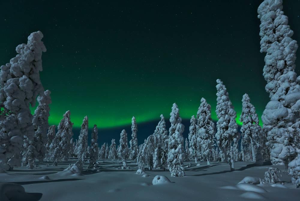 Northern Lights at Rovaniemi (Credit: Visit Rovaniemi)