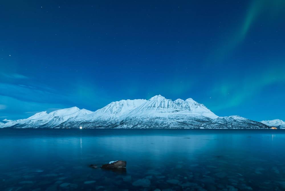 Northern Lights at the Arctic Panorama Lodge