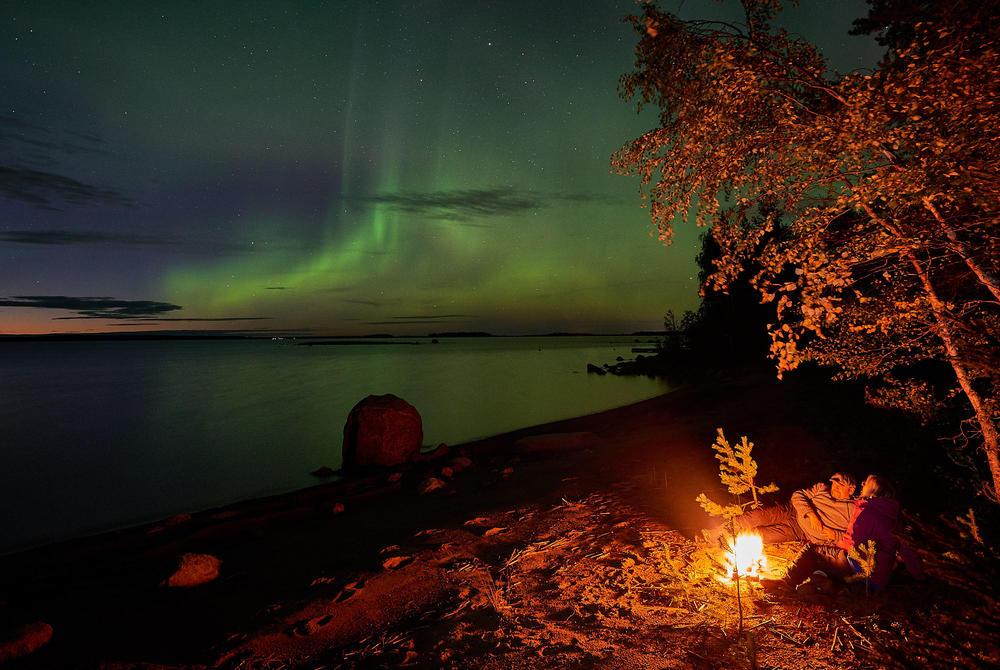 Northern Lights in Sweden (Brandon Lodge