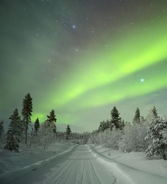 Northern Lights in Finnish Lapland