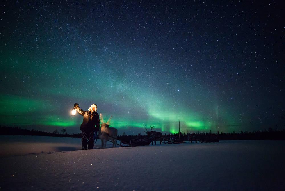 Northern Lights, Harriniva