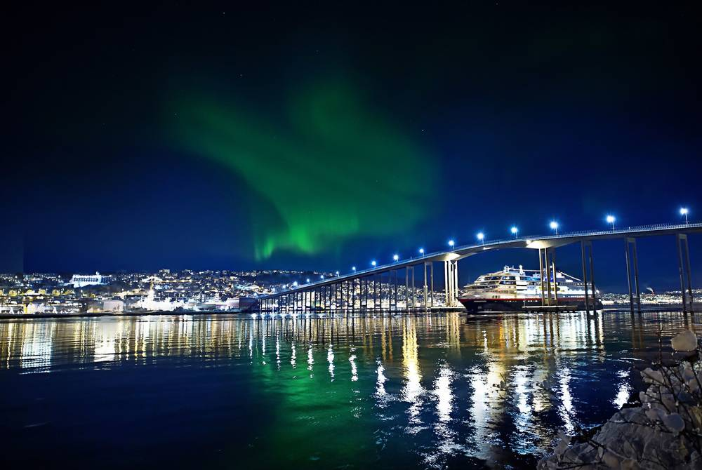 Northern Lights in Tromso, Hurtigruten