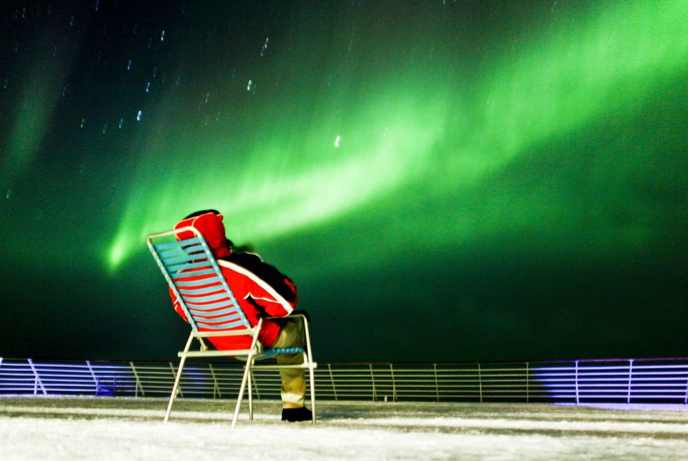 Northern Lights on a Hurtigruten, Norway