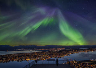 Northern Lights over Tromso (Credit: Truls Tiller)