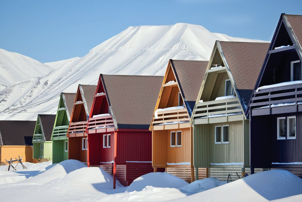 Norway houses, Longyearbyen