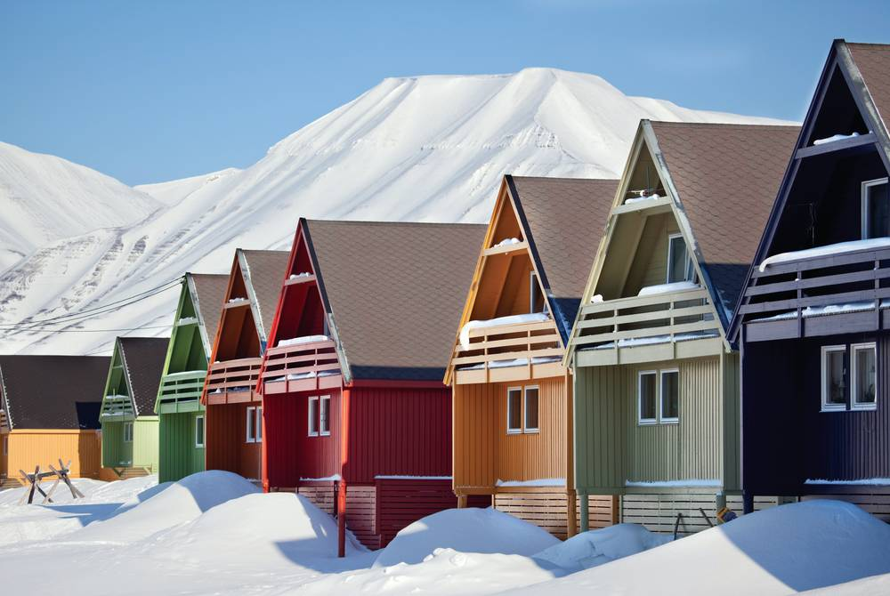 Colourful houses, Longyearbyen