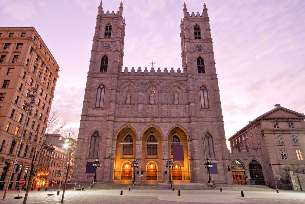 Notre Dame in Montréal, Canada