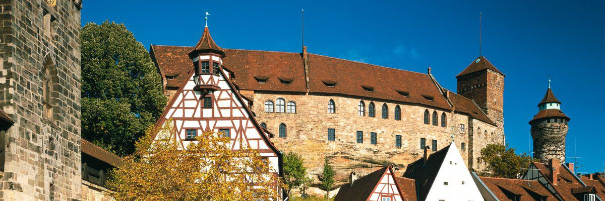 Nuremberg Castle, Nuremburg, Germany